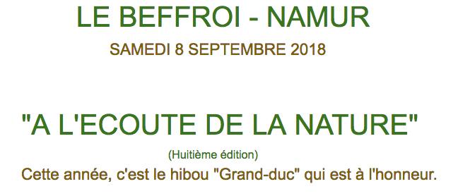 Exposition André Buzin Septembre 2018